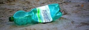 ...entsorgte Plastikflasche - Playa de Torre Derribada – Spain