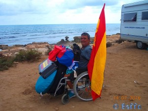 Giuseppe at Platja del Carabassí – Spain