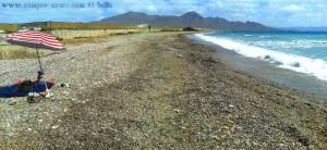 """So viel zum Thema """"Schattenplatz"""" - Playa de Cobaticas – Spain"""
