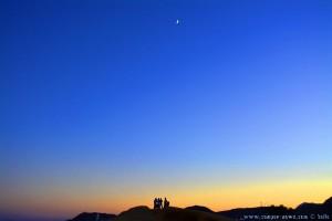 Sunset an Moon at Playa de las Palmeras – Spain