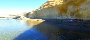 Noch lange im Schatten! Die kleine Bucht bei Playa de las Palmeras – Spain