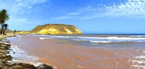 Rotes Wasser - Playa de las Palmeras – Spain