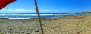 Unsere Aussicht heute - Playa de las Palmeras – Spain