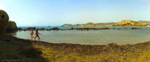 kleine Bucht am Playa de las Palmeras - Spain