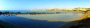 Kleine Bucht am Playa de las Palmeras – Spain