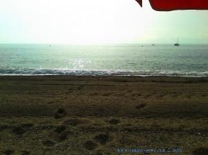 Meine Aussicht heute am Playa de las Salinas – Spain