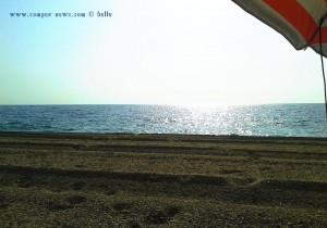 My View today - Playa de las Salinas – Spain