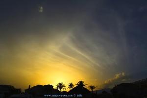 Sunset in Roquetas de Mar – Spain