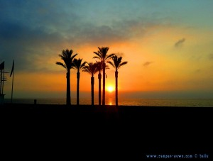 Sunrising at Playa las Salinas - Spain