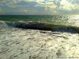 Waves at Playa las Salinas – Spain