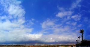 Clouds at Playa las Salinas – Spain – 30. August 2016 – 14:45