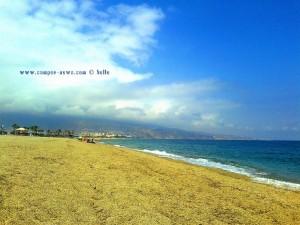 ...die Wolken halten sich heute - Playa de las Salinas – Spain