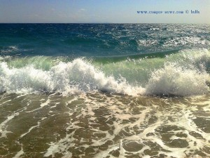 Waves at Playa de las Salinas – Spain