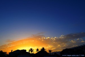 Sunset at Playa de las Salinas – Spain – 20:28 Uhr – 18mm