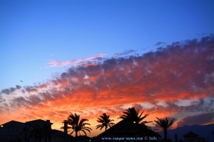 Sunset at Playa de las Salinas – Spain – 20:44 Uhr – 36mm