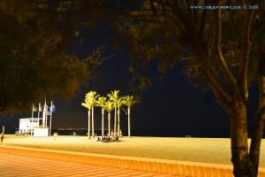 Nachtleben an der Promenade von Playa las Salinas – Spain