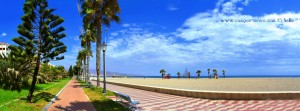 Promenade am Playa la Romanilla – Spain