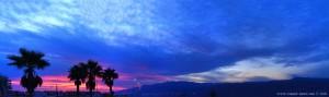 Sunset at Playa las Salinas – Spain
