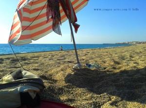 My View today - Playa las Salinas - Spain