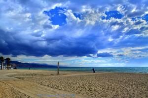 Gewitterstimmung am Playa las Salinas - Spain - HDR [High Dynamic Range]