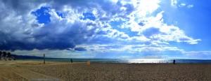 Gewitterstimmung am Playa las Salinas – Spain