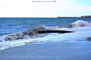 Rohr zwischen Playa las Salinas und Playa la Romanilla – Spain