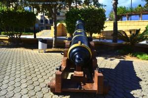 Kanone am Castillo de Santa Ana - Roquetas de Mar – Spain