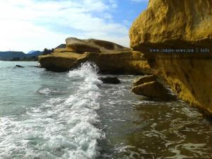Waves at Playa de las Palmeras – Spain