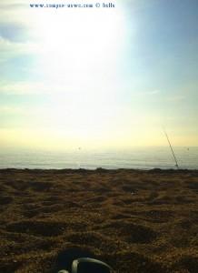 Angler am Strand - My View today - Playa las Salinas - Spain