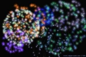 Feuerwerk wie man es sich vorstellt!