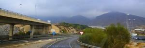 Dunkel schauts aus... On the Road – Spain