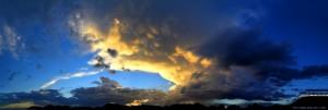 Interessanter Himmel am Playa de las Palmeras – Spain