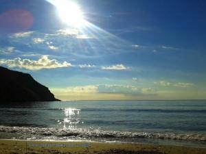 My View today – Playa de las Palmeras – Spain