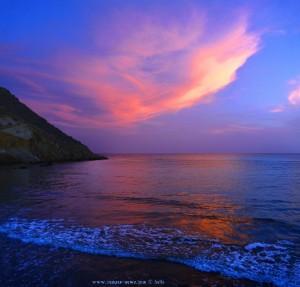 Sonnenrot am Playa de las Palmeras – Spain