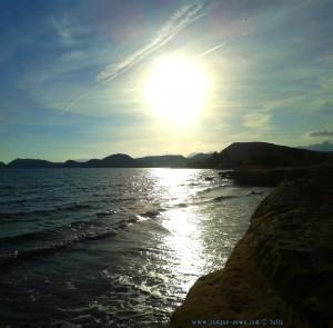 My View at 6pm- Playa de las Palmeras – Spain