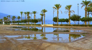 Viel Regen am Playa las Salinas – Spain