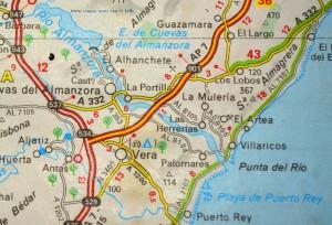 Michelin-Karte 578 Andalucía – Spain