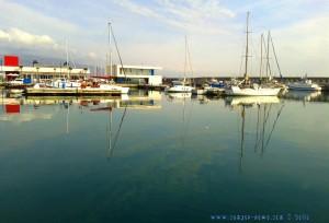 My View today - Puerto de Roquetas de Mar – Spain