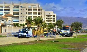 Baustelle am Playa las Salinas – Spain