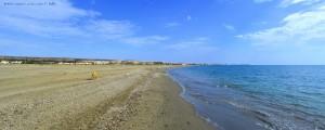 Playa Almerimar - View to Almerimar and Puerto Almerimar – Spain