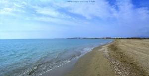 Playa Almerimar - View to Los Baños Guardias Viejas – Spain
