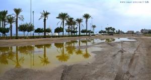 Parking at Playa las Salinas - Av Legión Española, 10, 04740 Roquetas de Mar, Almería, Spanien - October 2016