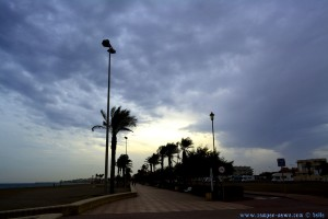 Noch immer grau am Playa las Salinas – Spain (17:47)