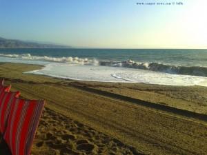 Waves at Playa las Salinas – Spain