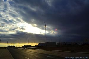 Dunkel wirds... an der Repsol bei El Cosario – Spain