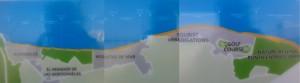 Playas of Roquetas de Mar - Aguadulce 1670m - La Ventilla 1100m - Los Bajos 1810m - Las Salinas 1330m - La Romanilla - 1310m - La Bajadilla 1520m - Urbanisation Roquetas de Mar Beach 1980m - La Serena 1780m - Cerrillos 2620m