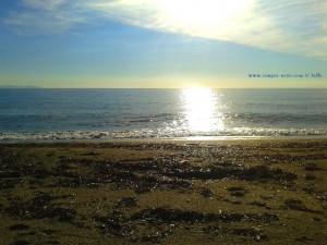 ...nur noch 21°C warm das Wasser – Playa las Salinas – Spain