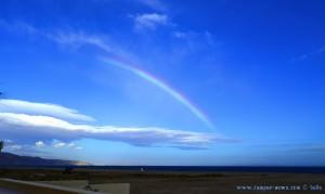 Regenbogen am Playa las Salinas – Spain