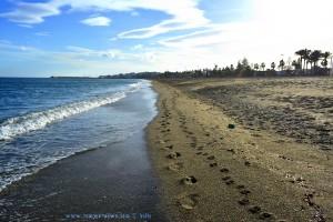 ...unsere Spuren im Sand... - Playa la Romanilla – Spain