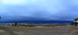 Dunkelschwarz schaut es aus - Playa la Salinas - Spain